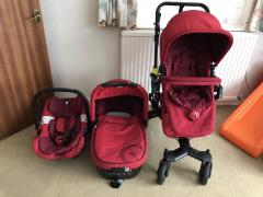 Concord NEO TRAVEL SET & Buggy дитяча ванна SLEEPER Carrycot AIR
