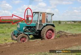Fuel economy for tractor UMZ, MTZ, T-40 to-20%