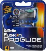 Gillette Fusion ProGlide 4 картриджа в упаковке