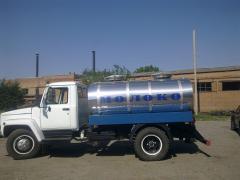 Изготовление и ремонт автоцистерн, водовозов, молоковозов