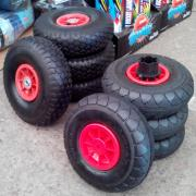 Комплект резиновых колес для детских электромобилей (джипы и кв