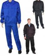 Костюм охранника .цвет черный (куртка+брюки) демисезонный