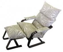 Крісло качалка релакс з підставкою, для відновлення сил