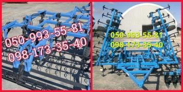Культиваторы с катком и пружинами КГШ-4 /КГШ8,4 м. предпосевной