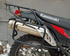 Luggage systems,side frames, bumpers for motorcycles