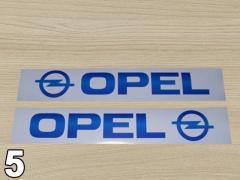 Наклейки на Renault Trafic Opel Vivaro