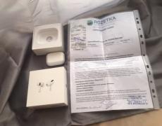 Навушники AirPods Pro оригінальні, чек