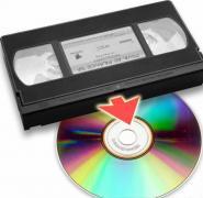 перезапись с видео кассет на dvd диски
