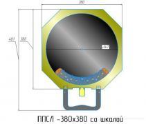 Площадка ППСЛ-380 поворотная, сдвижная