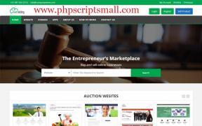 Покупать и продавать рынке скрипт | аукцион скрипт на PHP