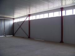 Построить быстровозводимый производственный комплекс 18х36х40