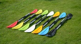Розбірні двосекційний весло для байдарок і каяків