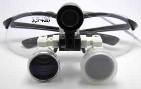 Set of binoculars 3.5-420mm + lights