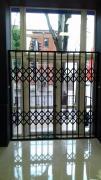 Sliding metal lattices on windows, doors, shop windows Odessa