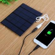 Солнечная батарея панель зарядное устройство USB 6 В 4000 мАч