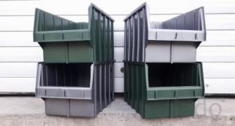 Стелажі для метизів Львів металеві складські стелажі з ящиками