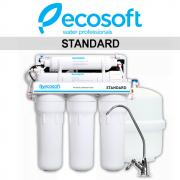 Система зворотного осмосу Ecosoft Standard з помпою (MO550PECOSTD