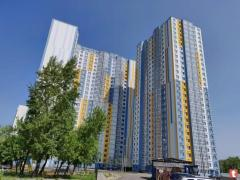 The apartment is 54 meters, 2 to 4 Vishnyakovskaya, Osokorky, Kiev, home delivered