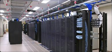 The data center in Europe