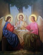 The Icon Of Holy Trinity