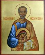 The icon of Saint Joseph the betrothed