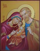The Icon Of The Holy Family
